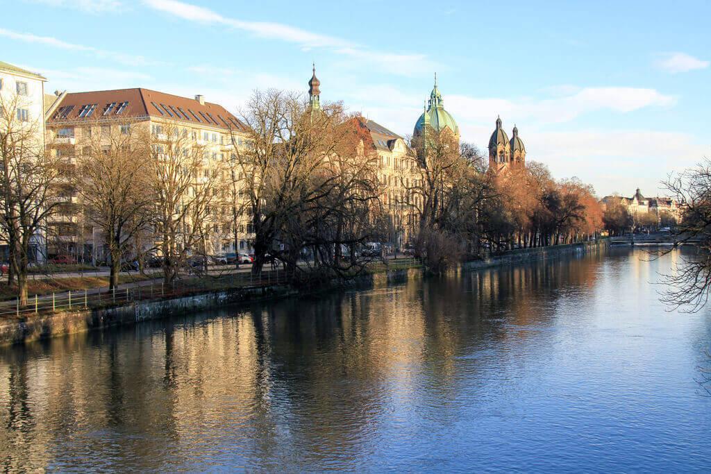 Isar Fluss münchen
